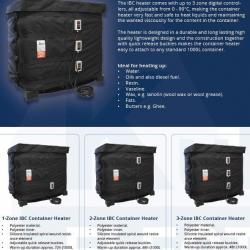 Incalzitor IBC heater cover