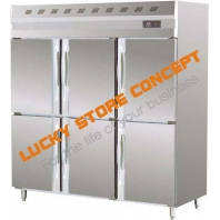 Congelator vertical inox 6 usi