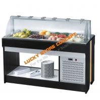 Vitrina frigorifica fructe salate