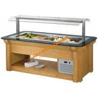 Vitrina frigorifica lemn fructe salate
