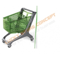 Plastic cart trolley