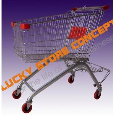 Sistem  bagaj carucior hypermarket