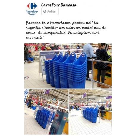 Cosuri plastic cu rotile