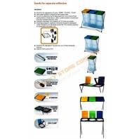 Suport pentru saci gunoi selectiv