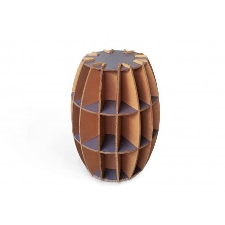 Suport sticle mobilier carton