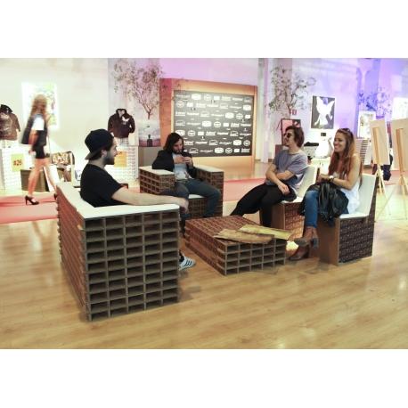 Imagini modele de  mobilier carton