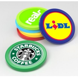 Jeton plastic token
