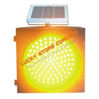 Indicator solar luminos