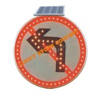 Semn circulatie interzis la stanga solar