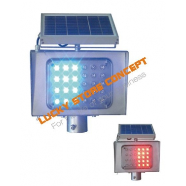 Solar flashing warning lights [clona]